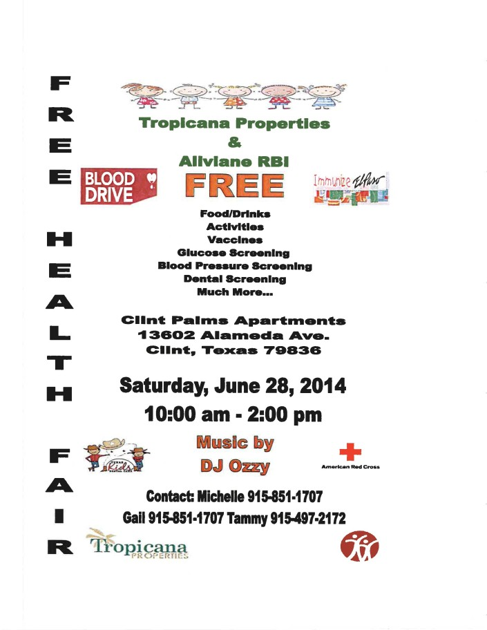 Health Fair with Aliviane 6-28-2014-page-1