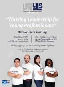 YLS - Leadership Workshop Poster