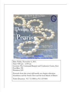 Denim & Pearls