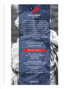 Veterans Day Invitation