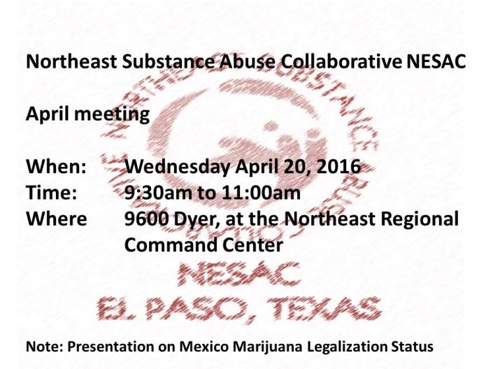 NESAC april  meeting 2016