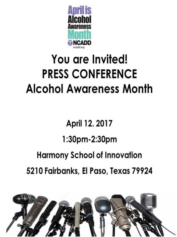 Press Conference for Alcohol Awareness Month « legacy