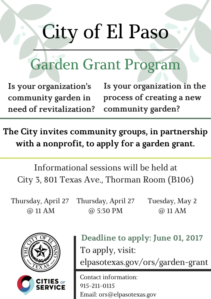 Garden Grant Program