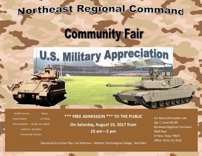 Community fair Flyer 2017