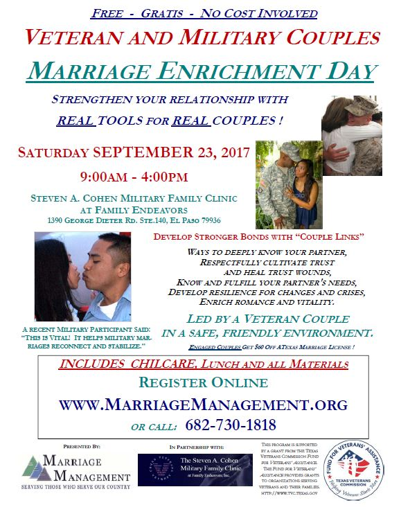 Marriage Enrichment Military Couples