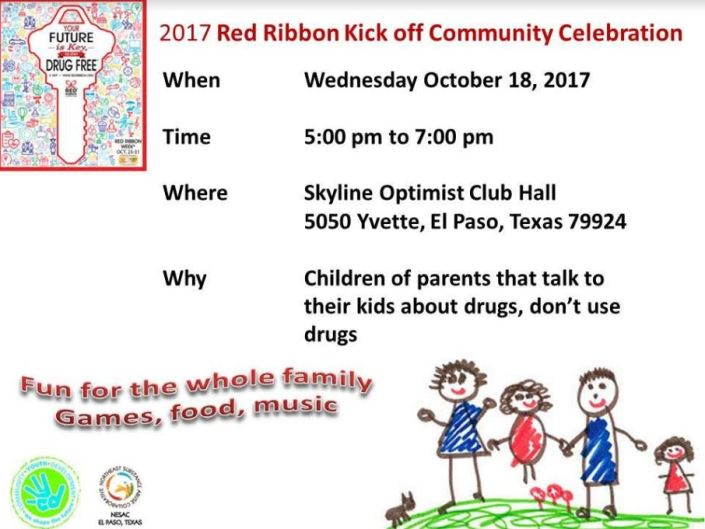 Red Ribbon Kick off Community Celebration