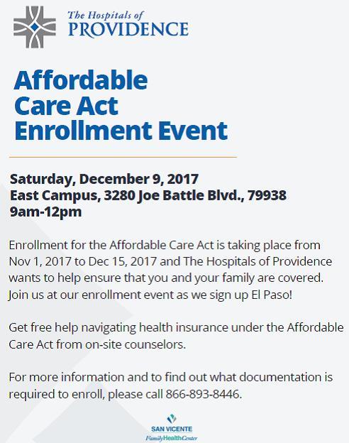 THOP Enrollment Event